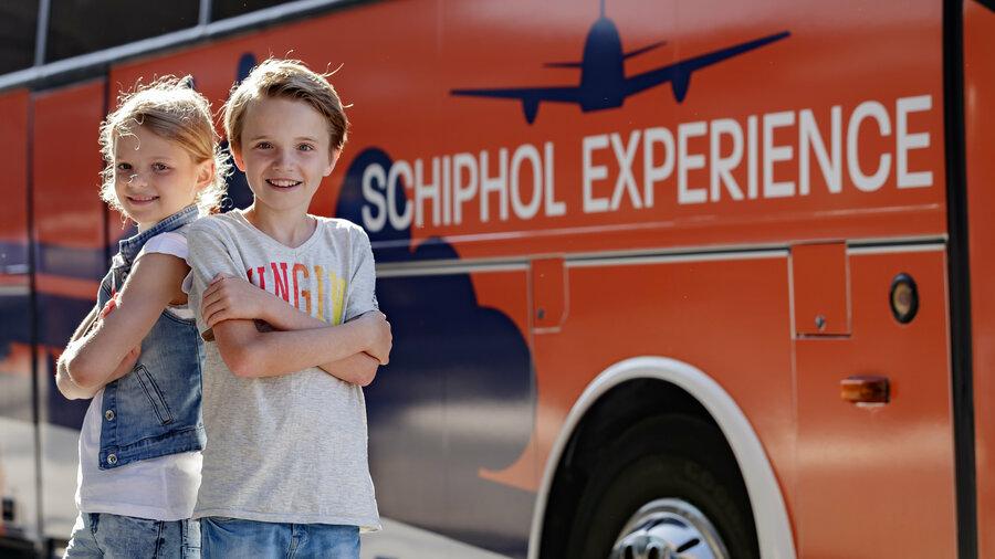 Kinderen voor bus