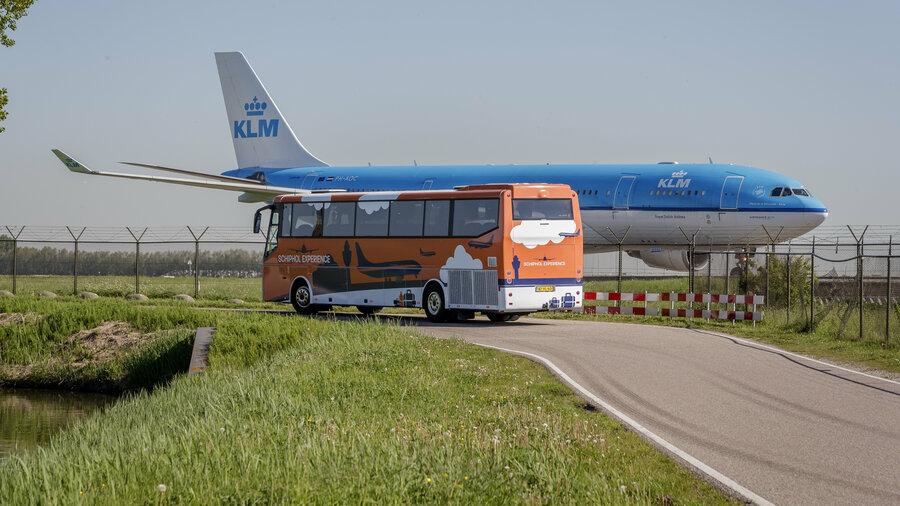 Bus voor vliegtuig