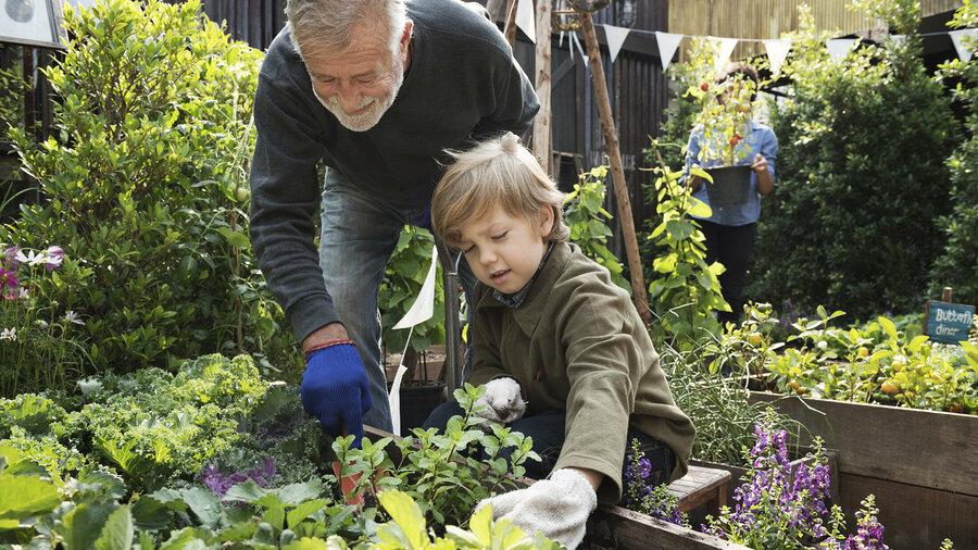 Tuinieren met kinderen.