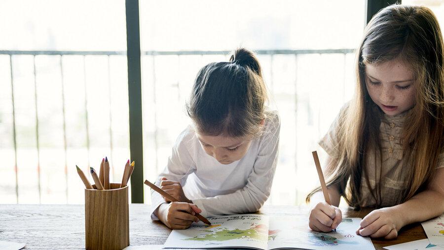 Schilderen voor kinderen - creativiteit.
