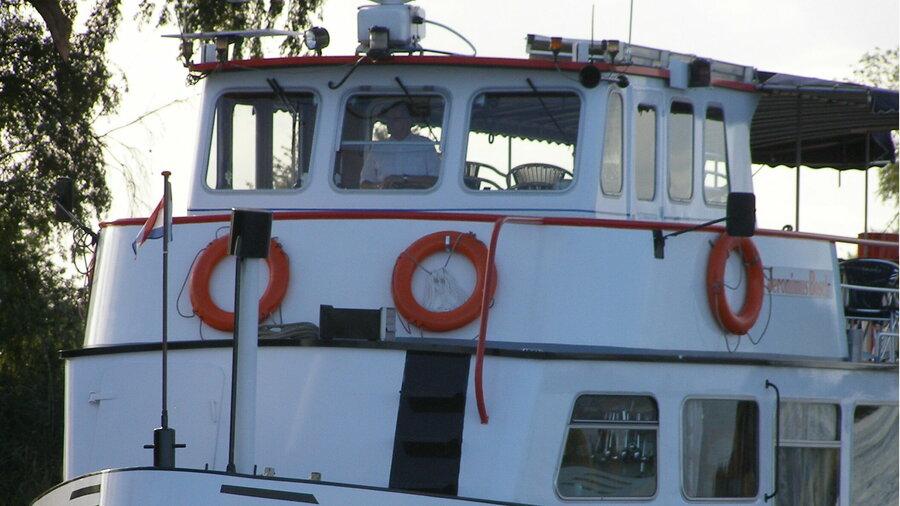 Rondvaartboot van Rederij Wolthuis
