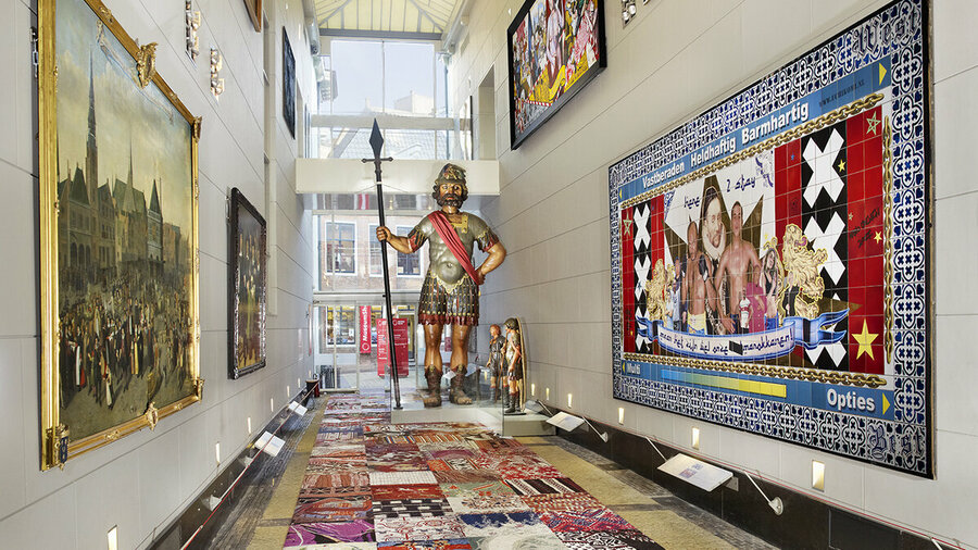 Geschiedenis tentoonstelling Amsterdam Museum