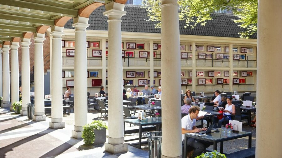 Terras restaurant Amsterdam Museum