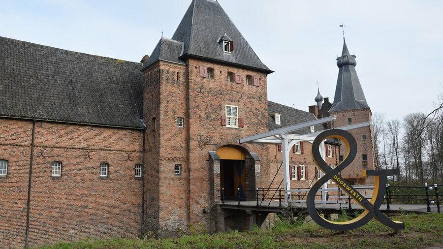 Kasteel Doorwerth met ophaalbrug