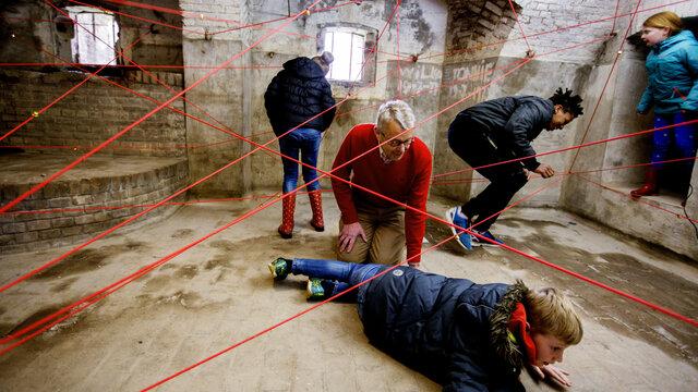 Lasers in Fort Pannerden
