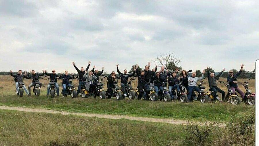 Huur een E-Chopper van Spyder Wheelz en verken de natuur in je regio met een groep