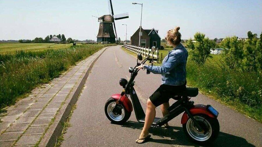 Huur een E-Chopper van Spyder Wheelz en verken de polder in Nederland