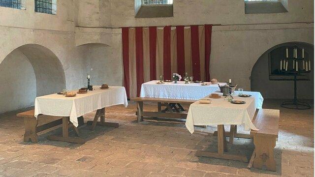 Ridderzaal kasteel Hernen