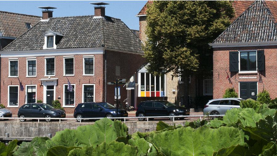 Vooraanzicht van Museum Dokkum.