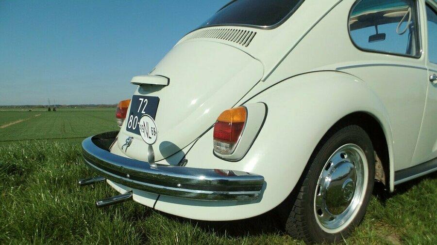 Achter bumper van Volkswagen Kever 1968 van Vintagecars Wapenveld