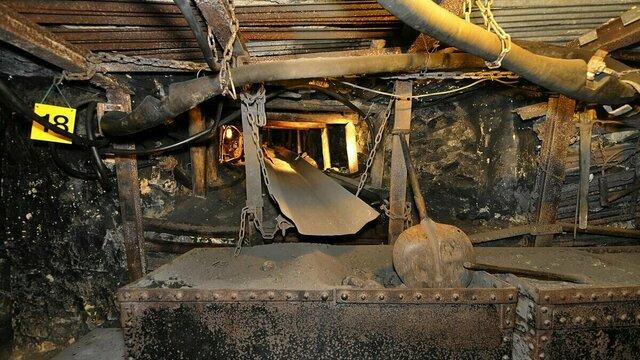 Ondergrondse steenkolenmijn in Valkenburg