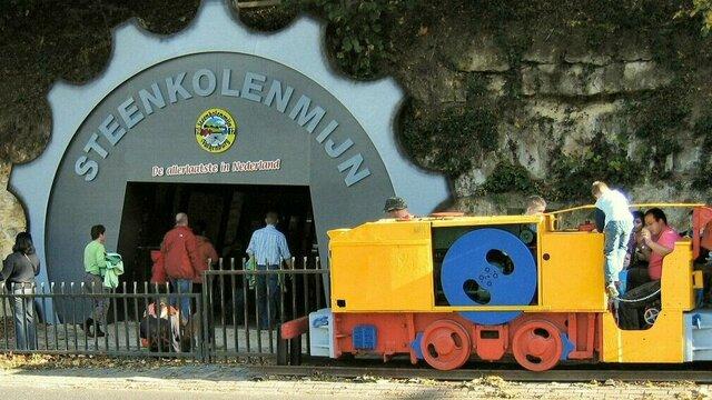 Ingang Steenkolenmijn Valkenburg