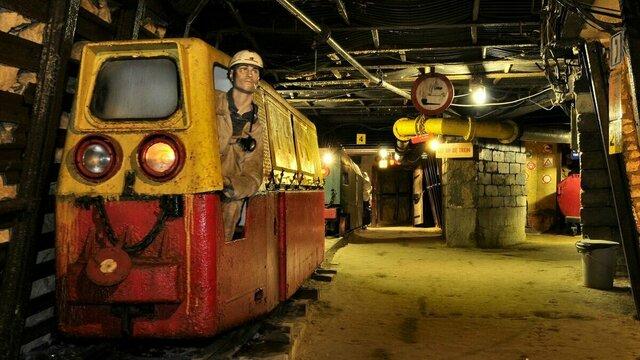 Mijnwerker in Steenkolenmijn Valkenburg