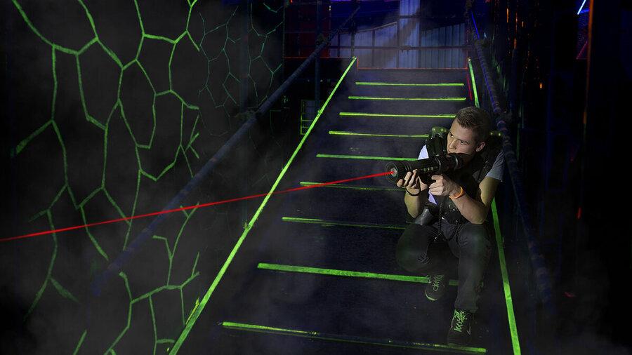 Lasergamen bij LaserQuest Nijmegen