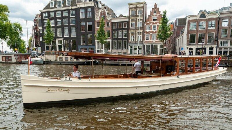 High tea rondvaart salonboot Amsterdam Rederij Aemstelland