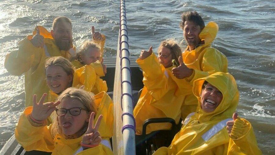 Vaar mee op een rescueboot van Beleef Lauwersoog