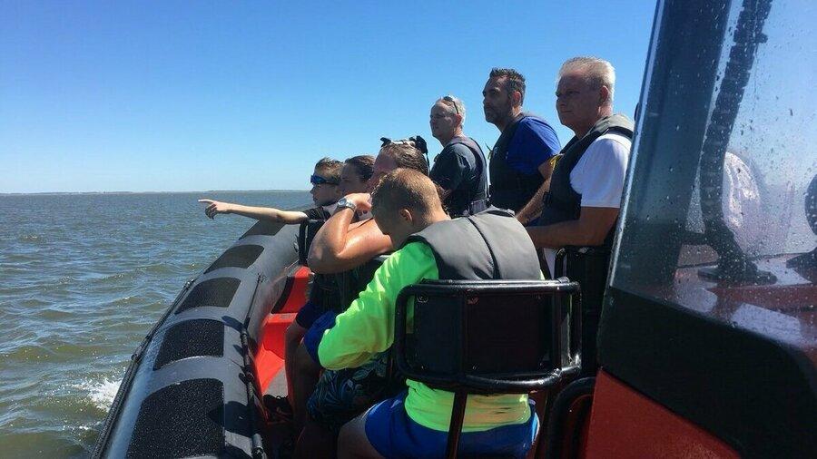 Vaar mee op een rescueboot van Beleef Lauwersoog om zeehonden te spotten