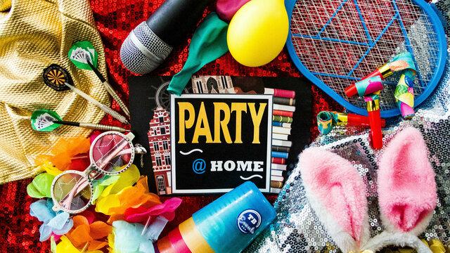 Maak er thuis een feestje van met de game Party at Home van TB Events.