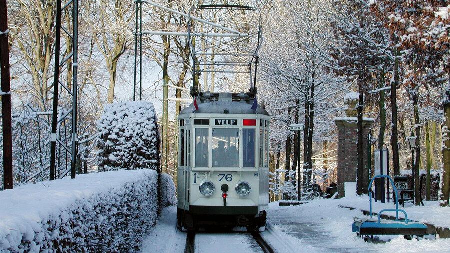 Pak een nostalgische tram naar de volgende halte