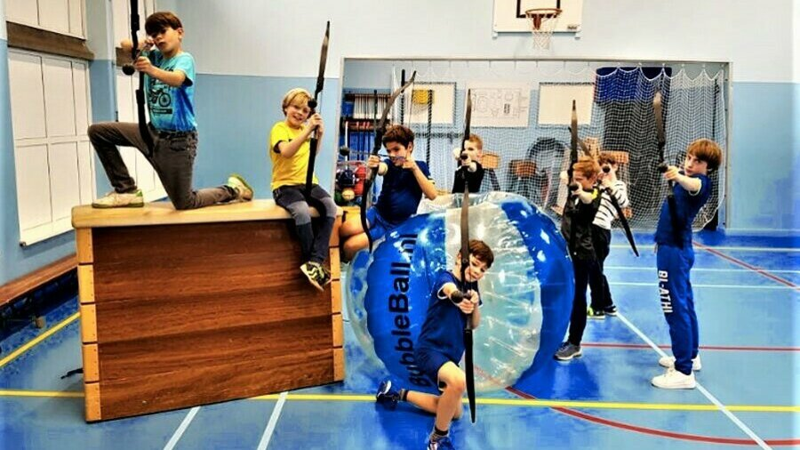 Organiseer een sportief feestje voor kinderen!