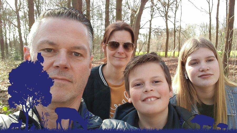Een wandeling door de natuur met het hele gezin is het allerleukst met Nature Game