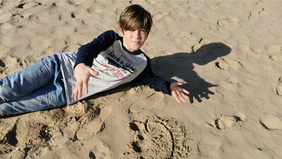 De Nature Game in natuurgebied Planken Wambuis brengt je langs zandverstuiving het Mosselsezand