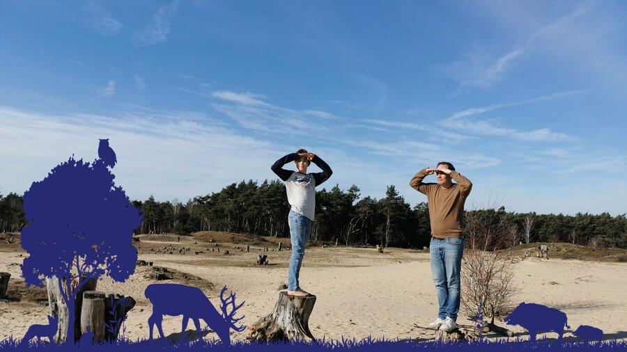 Verken bossen, heidevelden en zandverstuivingen tijdens een avontuurlijke Nature Game