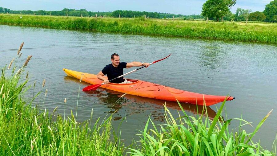 Huur een kajak of kano en peddel door de mooie Achterhoek