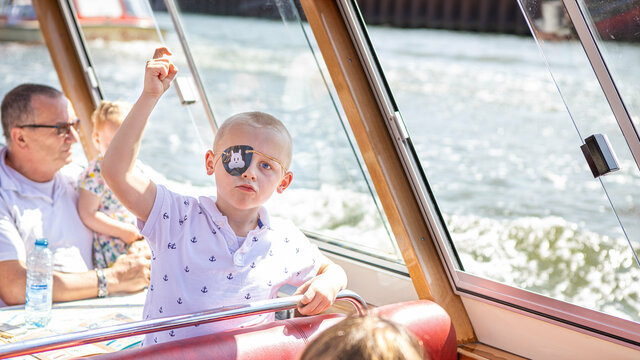 Een rondvaart van Blue Boat Company is ook heel leuk voor kinderen